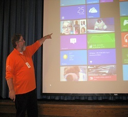 Windows8 on Screen